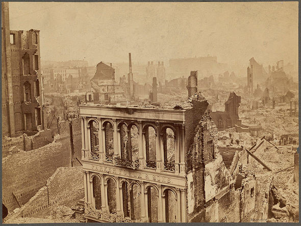 The remains of the city, 1872