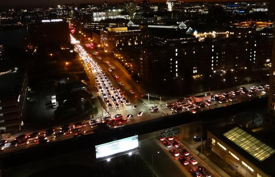 Gridlock in Boston