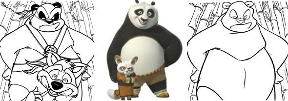 Pandas, one original