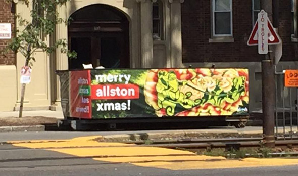 Allston Christmas is here
