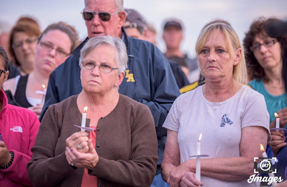 Vigil for Baby Doe on Deer Island