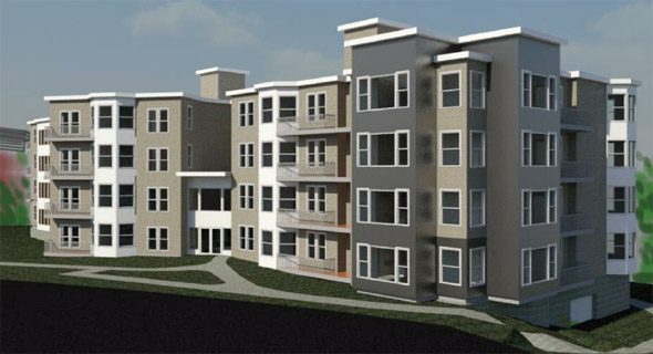 Proposed residential development in Orient Heights