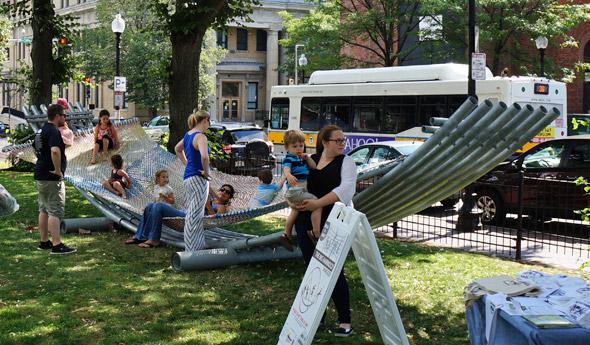 Big hammock in Roslindale