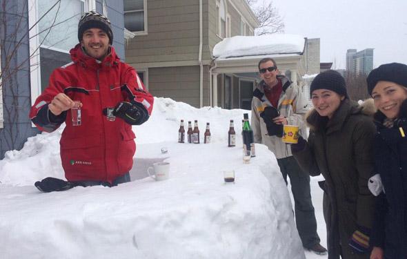 Cambridge ice bar