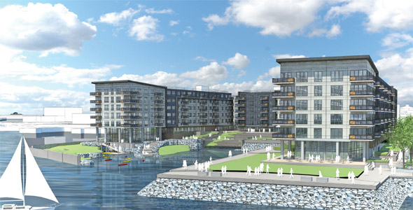 Proposed Clippership development