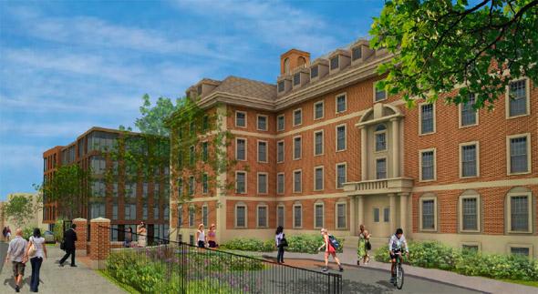 Goddard House apartment proposal