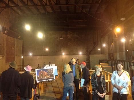Inside the Roslindale Substation