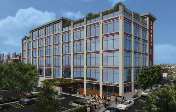 Proposed Porter Street hotel