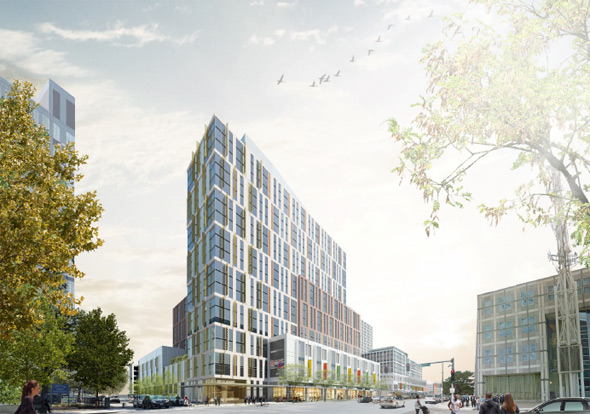 Proposed Tremont Crossing project in Roxbury