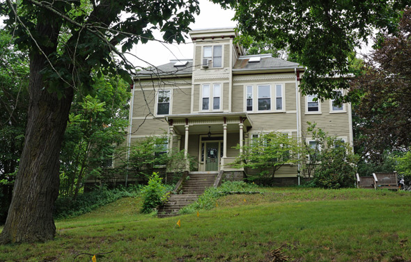 175 Poplar St. in Roslindale, where Mary Baker Eddy lived and worked