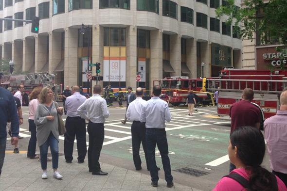 99 High Street shut due to bromine