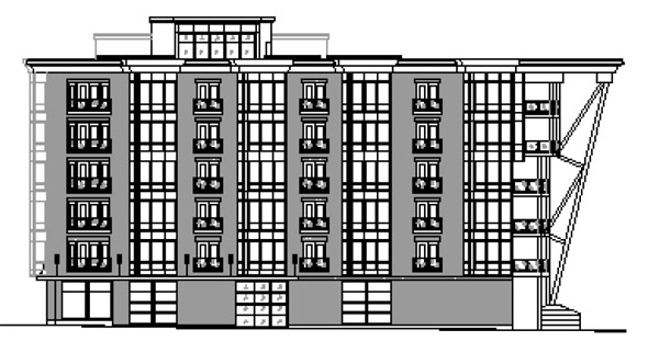 Proposed 100 A Street building in South Boston