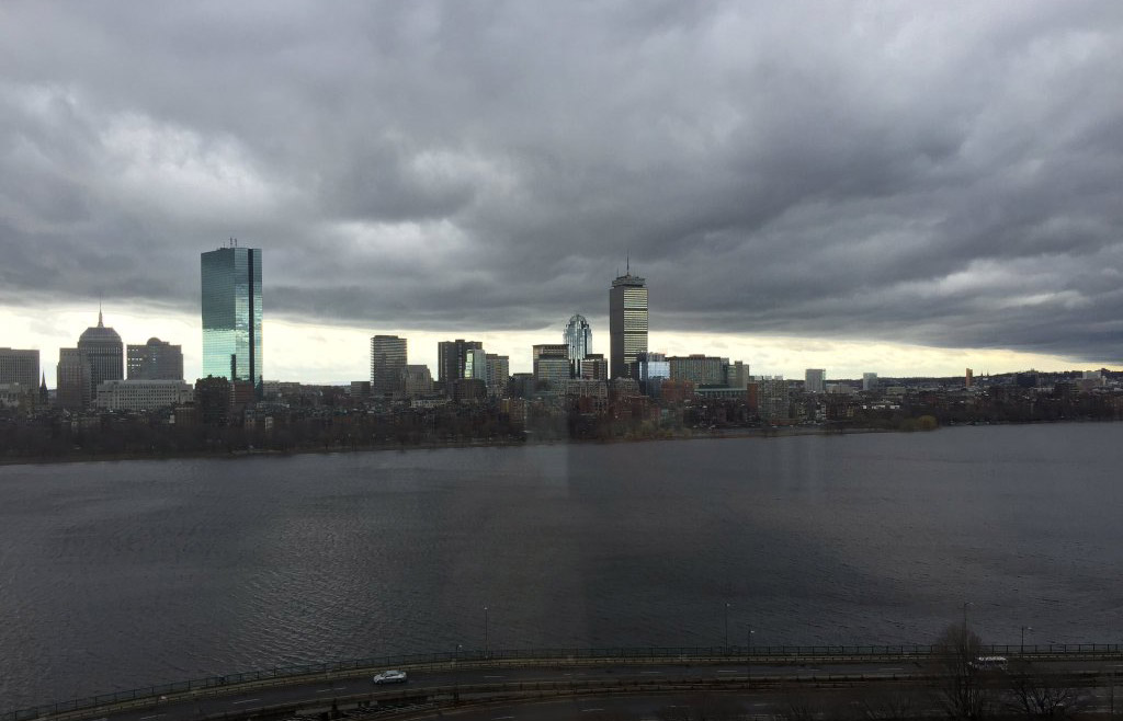 ominous cloud over Boston