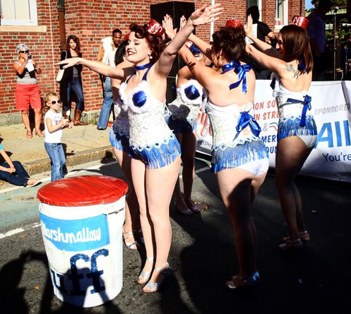 Fluffernutter dancers in Somerville