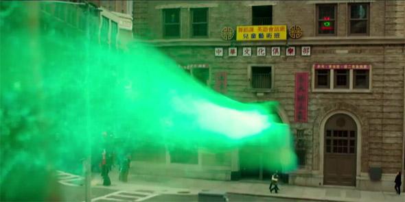 Ghostbusters scene shot in Boston Chinatown?