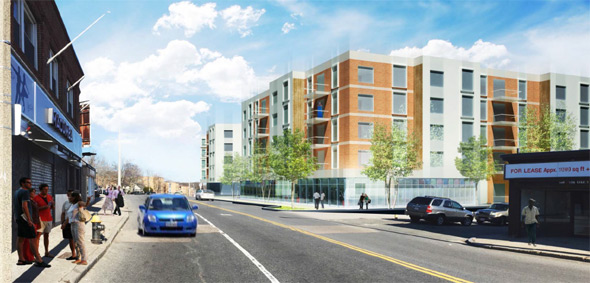 Proposed Mattapan residential complex