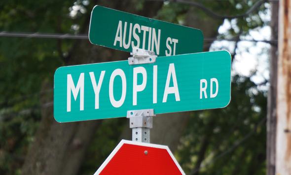Myopia Road in Hyde Park