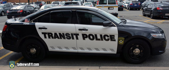 New Transit Police cruiser