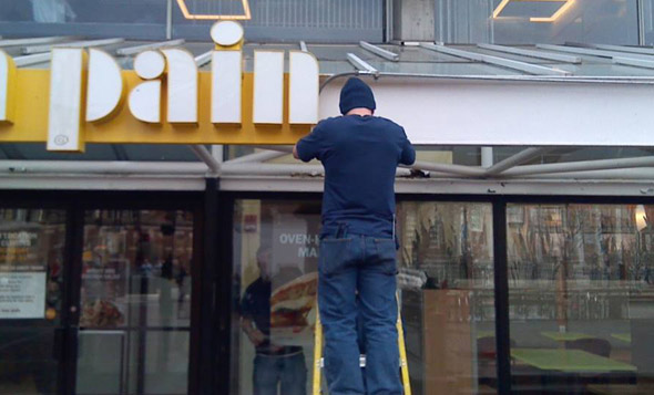 Au Bon Pain in Harvard Square is no more