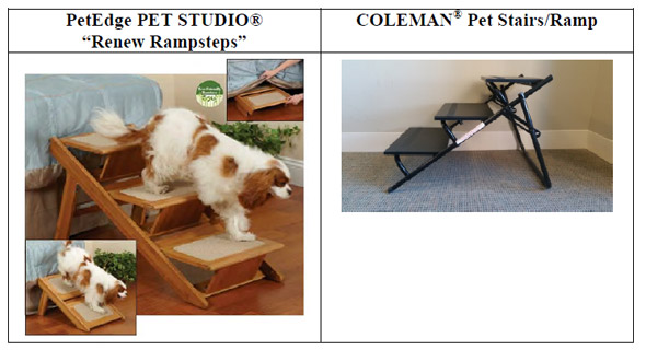 Competing pet steps