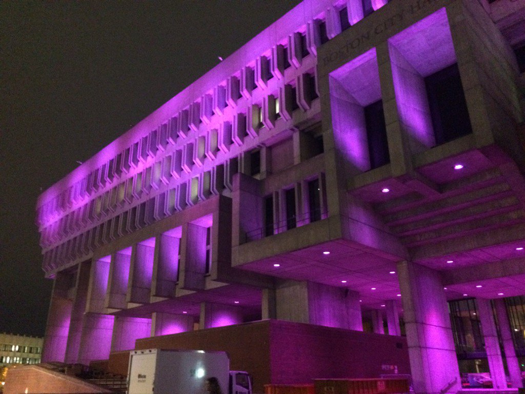Purple City Hall
