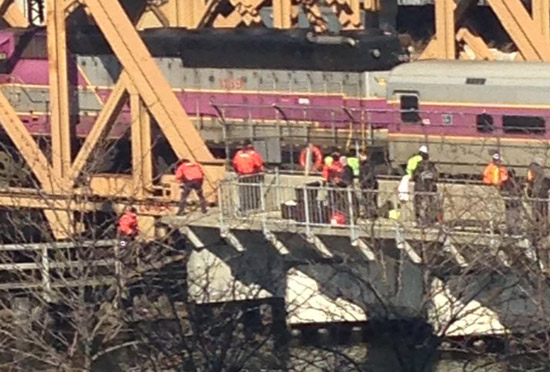 Crews searching Charles River near North Station