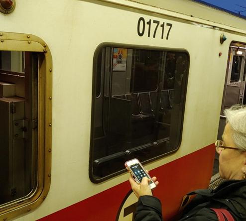 Dead Red Line train