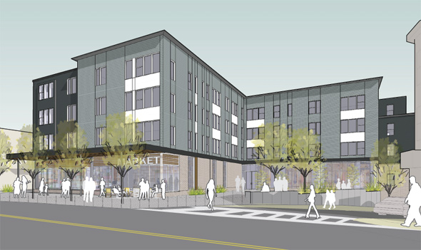 Bowdoin Street proposed building