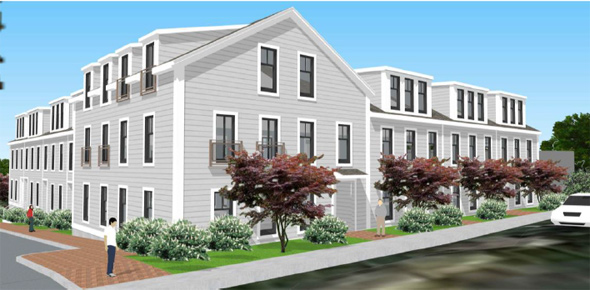 270 Baker St. architect's rendering