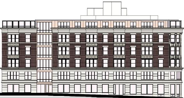 400 Dorchester St. rendering