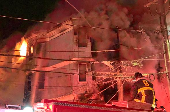 Allston Street fire