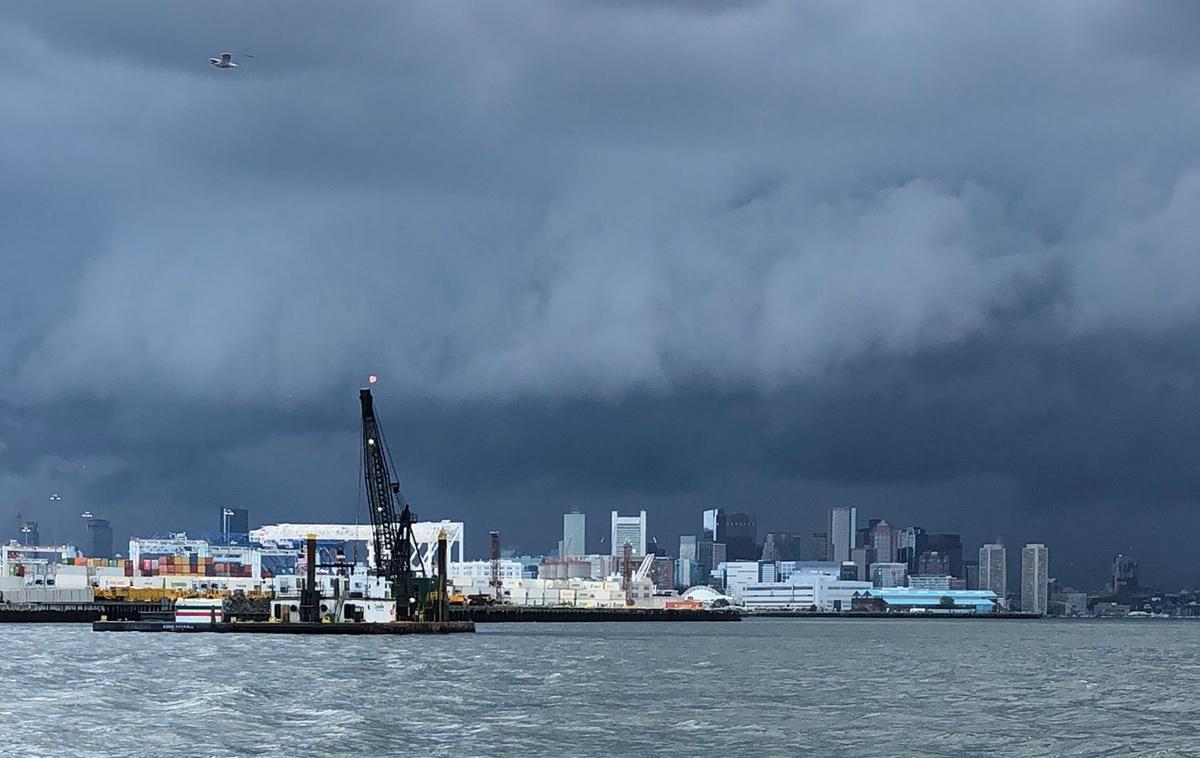 Storm over Boston