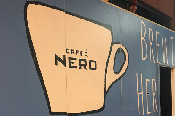 Caffe Nero going up in Brighton Center