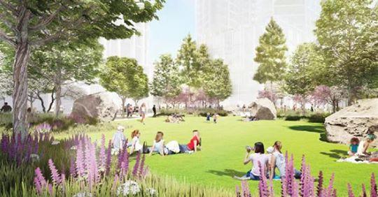 Harbor Square Park idyl