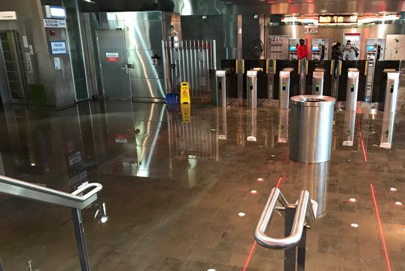 Wet Fields Corner Red Line station