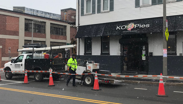 KO Pies in South Boston