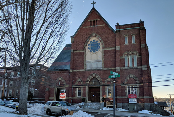 Most Precious Blood Church in Hyde Park