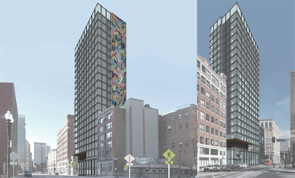 Proposed Kneeland Street hotel