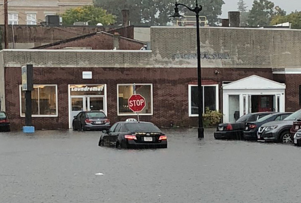 Flooding in Norwood
