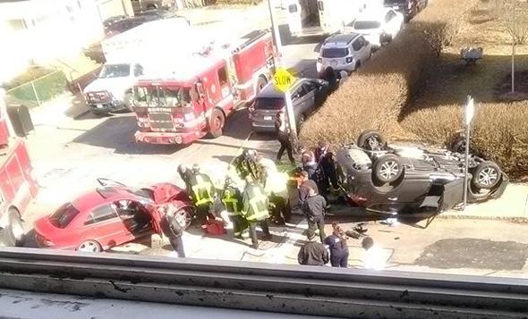 Roslindale crash