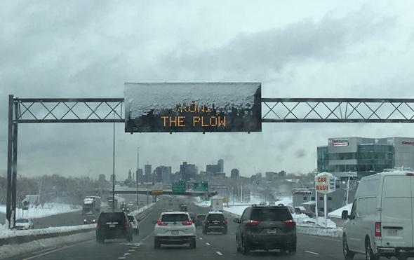 I-93 sign