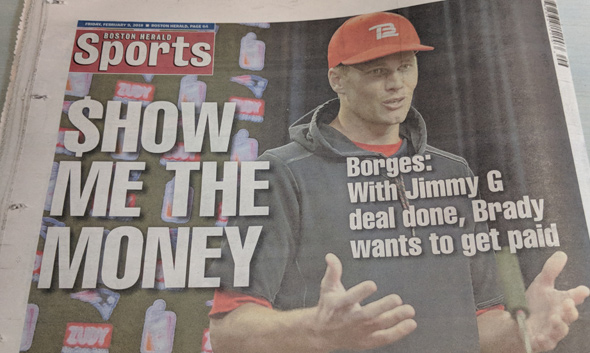 Bad Boston Herald headline
