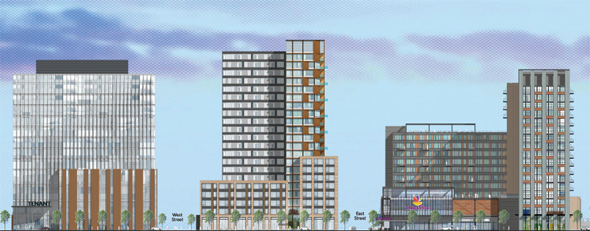 Allston Yards architectural rendering