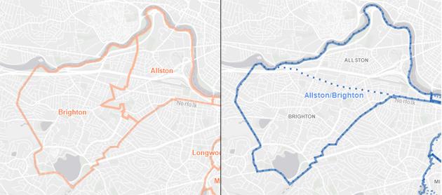 BPDA vs. DND map of