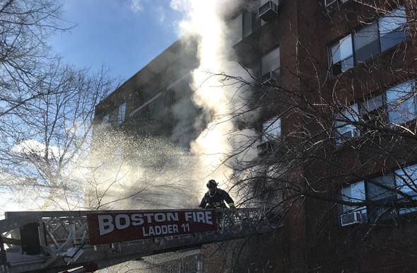 20 Washington St fire