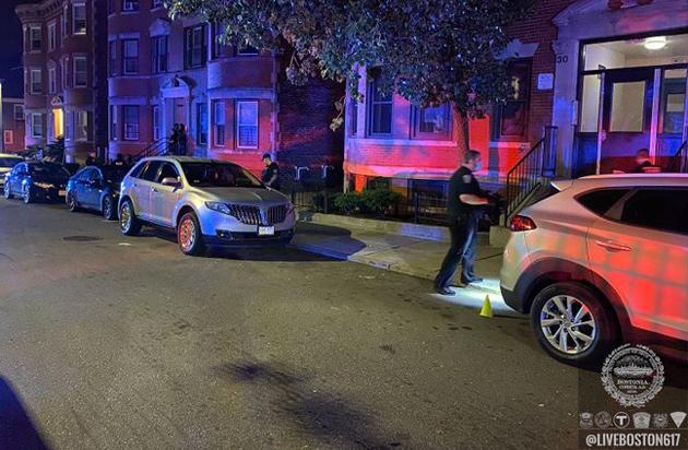 Thane Street crime scene