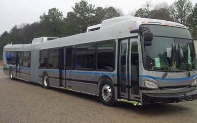 Electric Silver Line bus