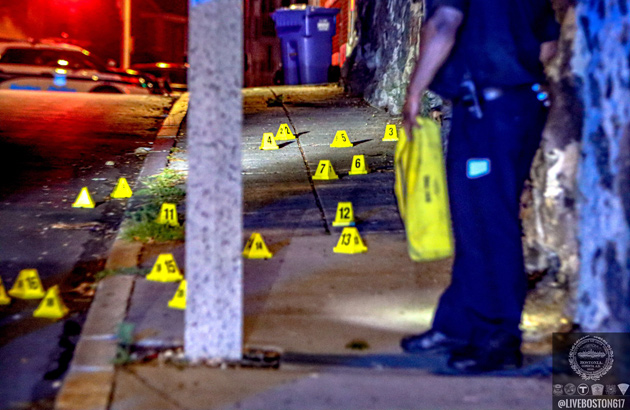 A lot of evidence markers