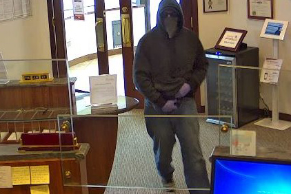 Arlington bank robber