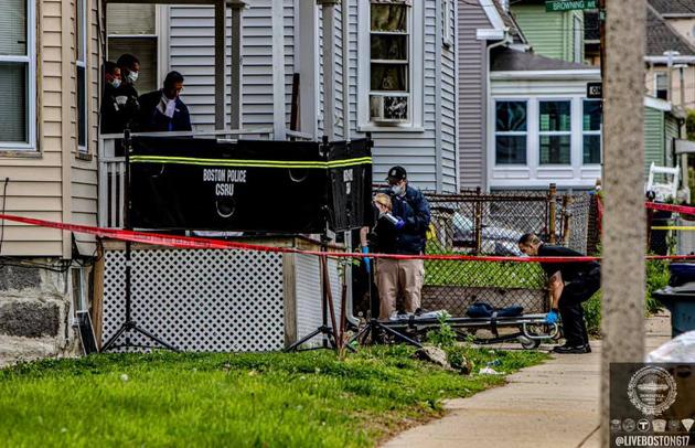 Bernard Street shooting scene